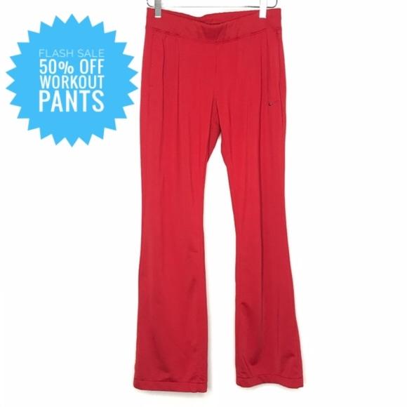 Nike Pants - Nike Athletic Dept. Red Jogger Sweatpants A060520